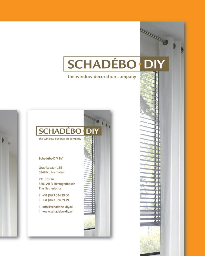 Schadébo DIY | Huisstijl en kerstkaart