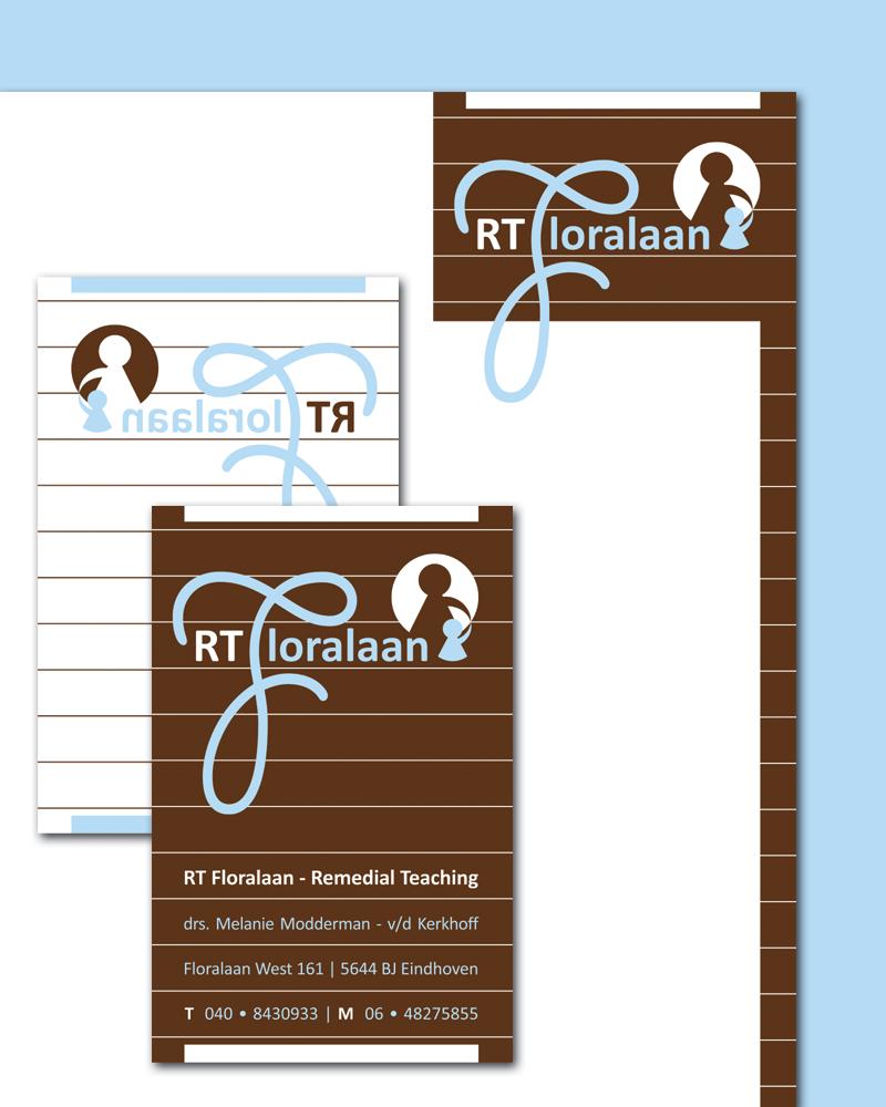 RT Floralaan | Logo, huisstijl