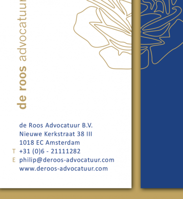 De Roos Advocatuur | Logo & Huisstijl
