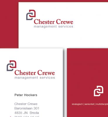 Chester Crewe | Logo, Huisstijl & Website