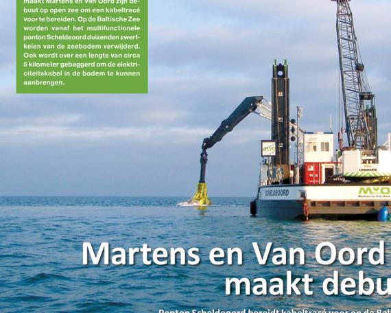 Martens en Van Oord| Autograaf brochure voorstel