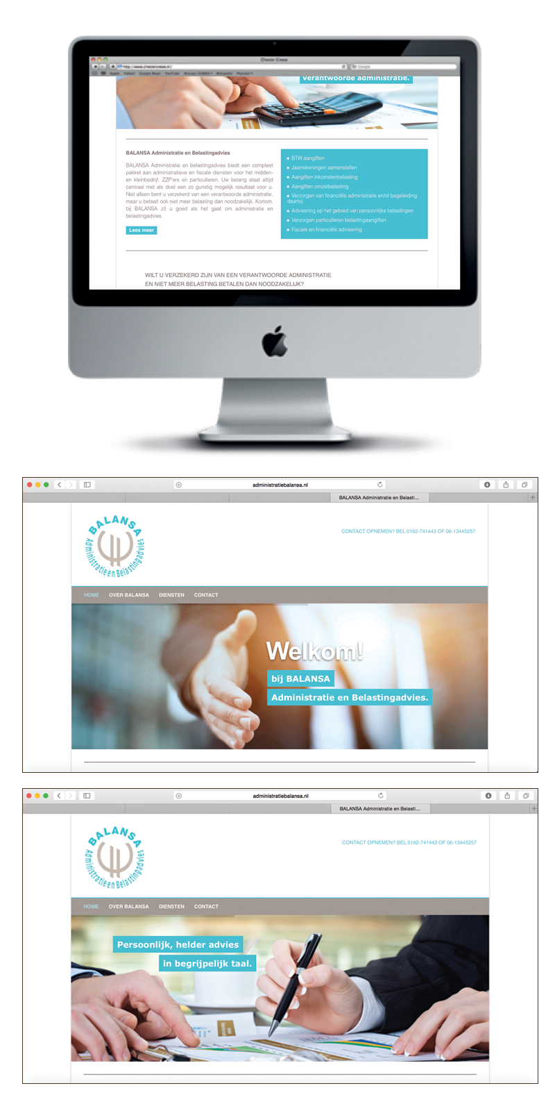 website Administratie Balansa
